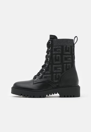 OLINIA - Lace-up ankle boots - black