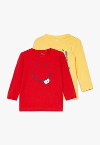 Name it - NBMDECOOL 2 PACK - T-shirt à manches longues - aspen gold - 0