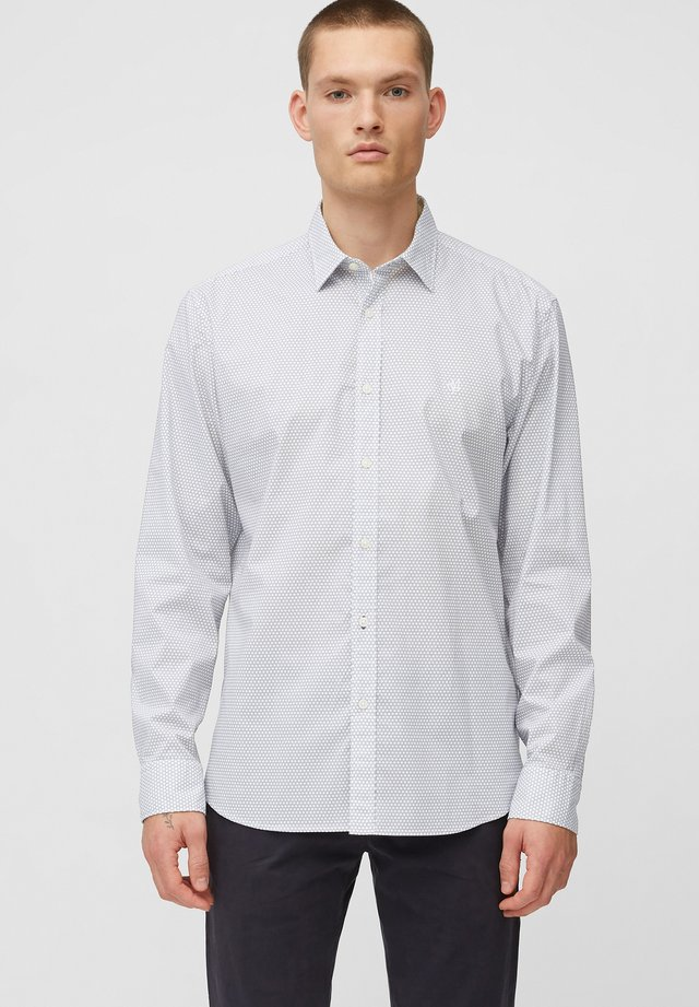 Shirt - multi/ white