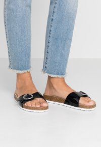 s.Oliver - Slippers - black - 0