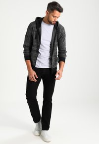 Marc O'Polo - C-NECK - Basic T-shirt - grey - 1