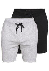 Pier One - Pantaloni sportivi -  light grey /black - 0