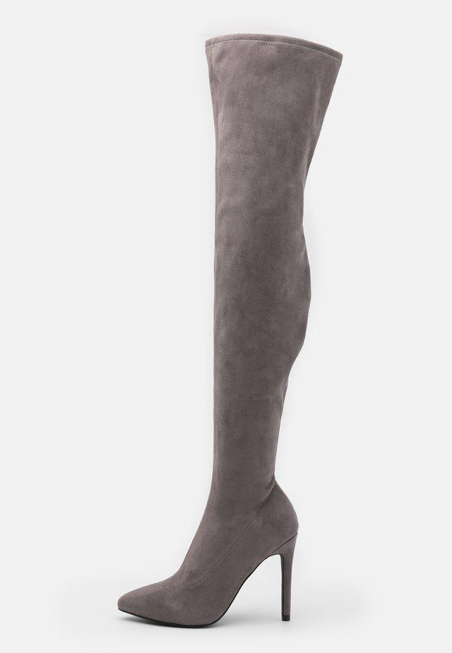 Botas de tacón - grey