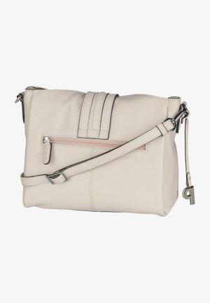 NEAPEL - Across body bag - beige