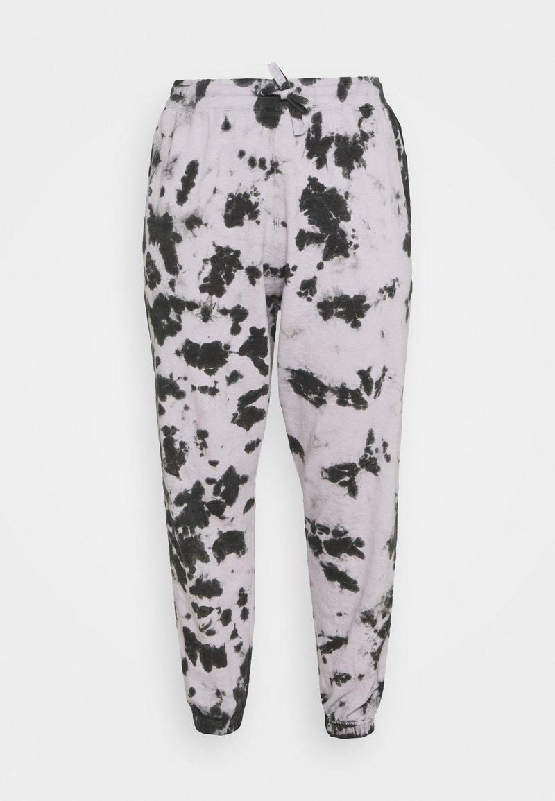 Missguided Plus - TIE DYE 90S JOGGER - Tracksuit bottoms - lilac