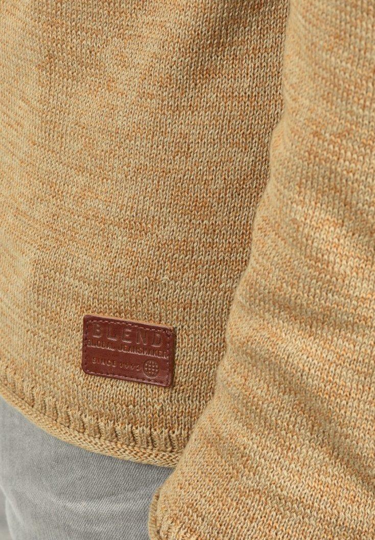 Blend DAN - Strickpullover - beige brow/beige-meliert - Herrenwinterkleidung IfQj2