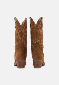 mtng - TEO - Cowboy/Biker boots - brown - 5