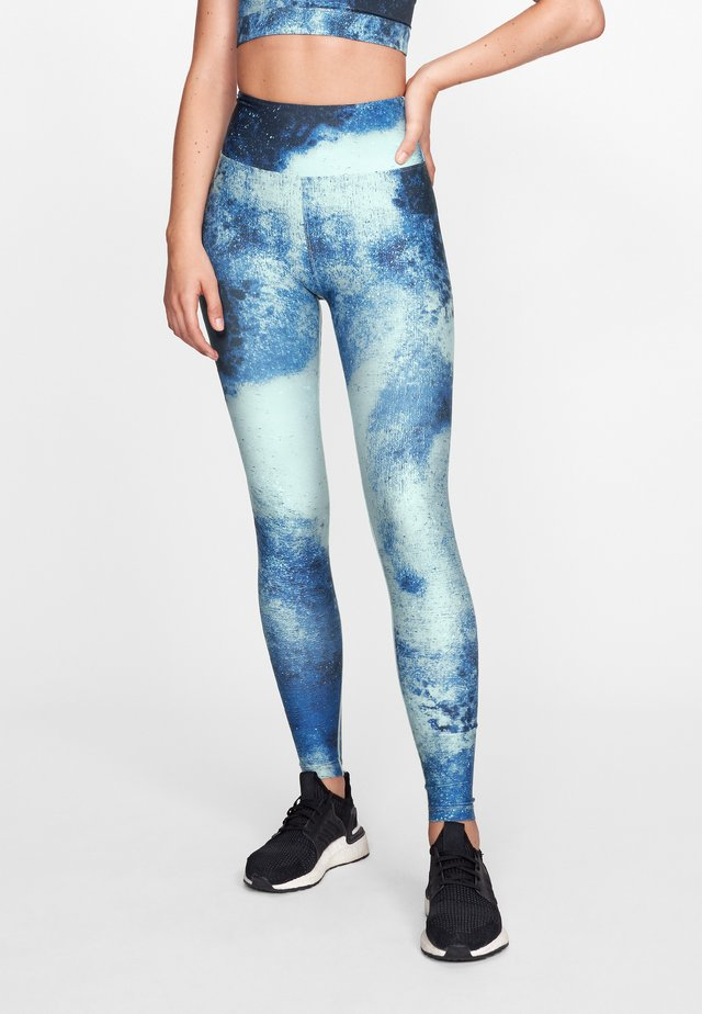 KEIRA  - Legging - blue space dyed