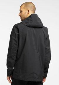 Haglöfs - TJÄRN JACKET  - Hardshell jacket - true black - 1