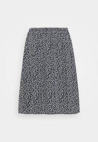 Moss Copenhagen - LAURALEE RAYE SKIRT - Áčková sukně - dark blue - 3