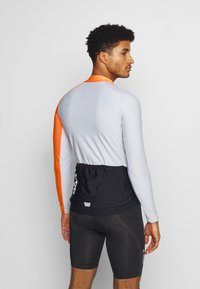 POC - ESSENTIAL ROAD  - Long sleeved top - granite grey/zink orange - 2