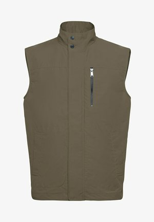 Veste sans manches - bronze green