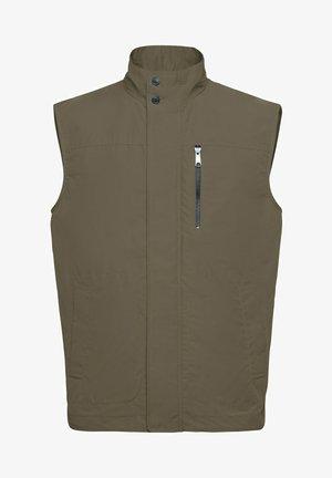 Waistcoat - bronze green