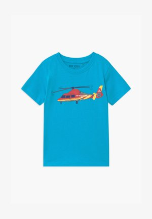 SMALL BOYS - Print T-shirt - türkis