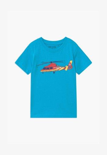SMALL BOYS - T-Shirt print - türkis