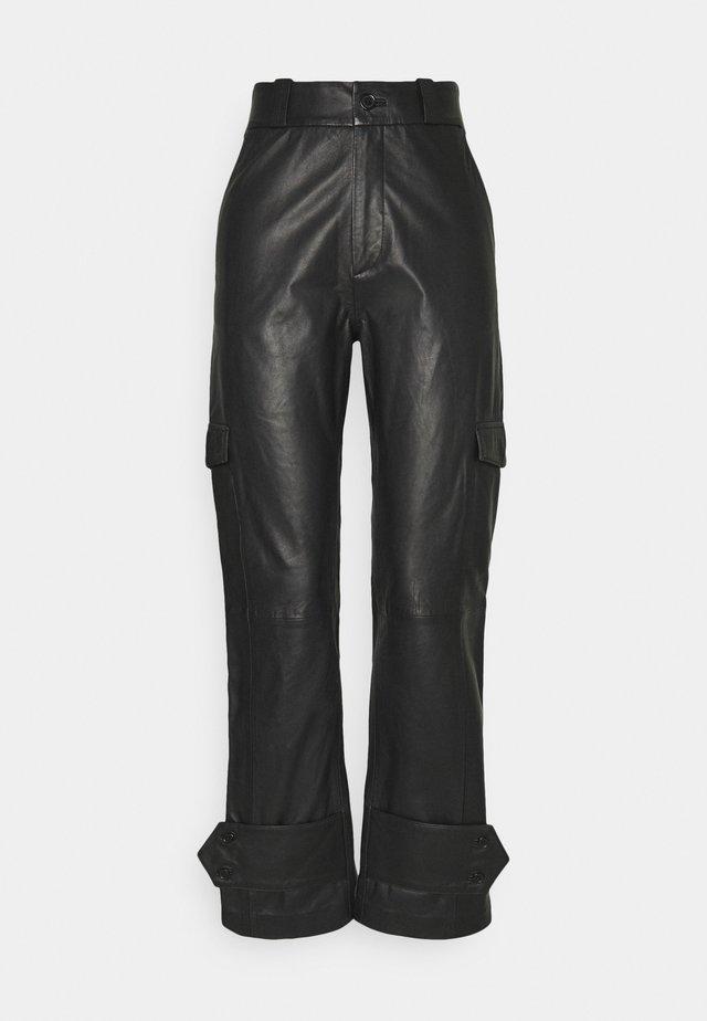 DUNDER TROUSER - Trousers - black