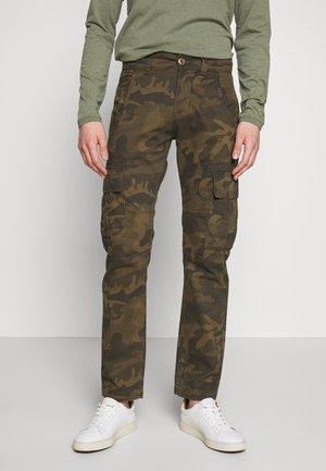 Pantalones cargo - olive
