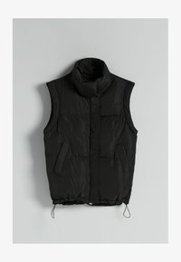 Bershka - Waistcoat - black - 4