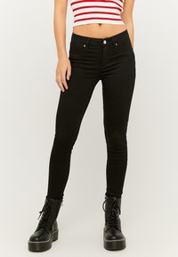 TALLY WEiJL - Slim fit jeans - blk001 - 0