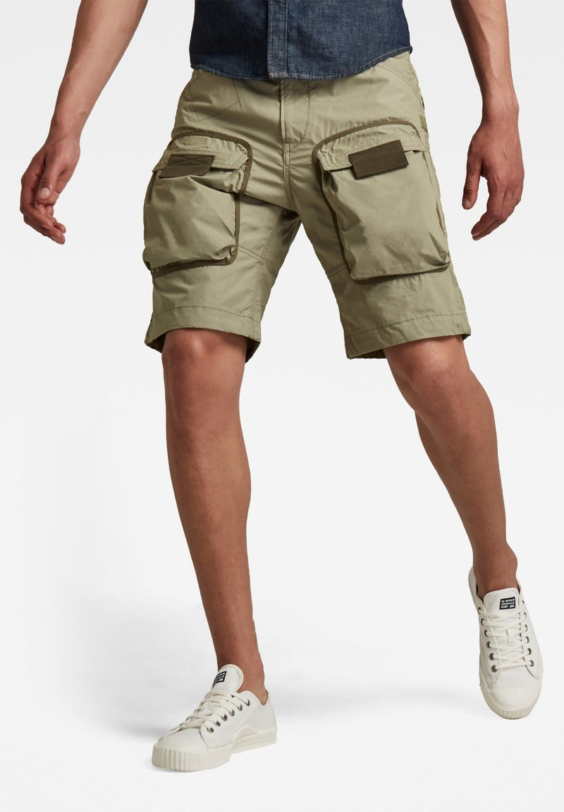 G-Star - 3D STRAIGHT POPLIN - Shorts - shamrock