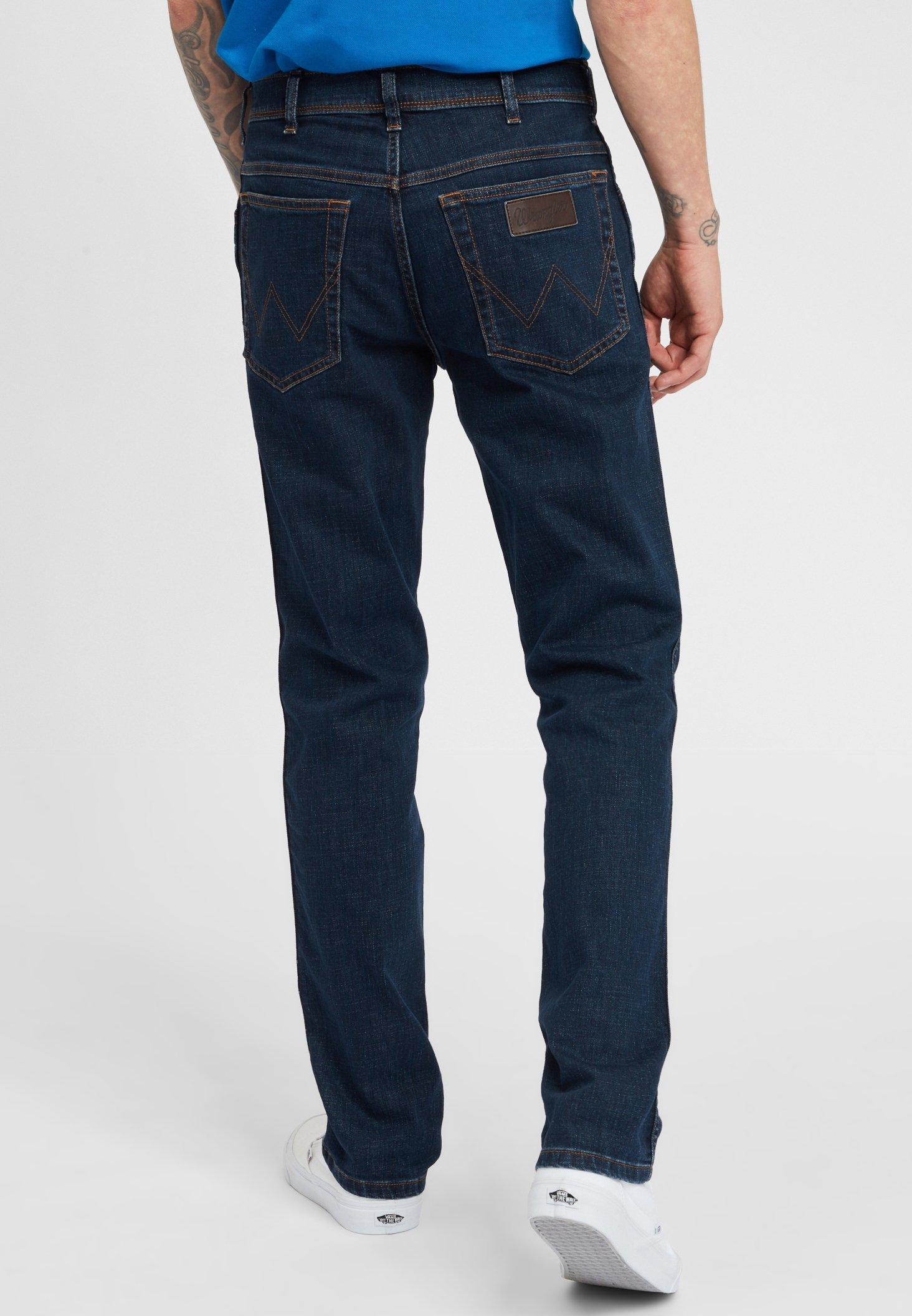 Wrangler TEXAS - Slim fit jeans - dark blue