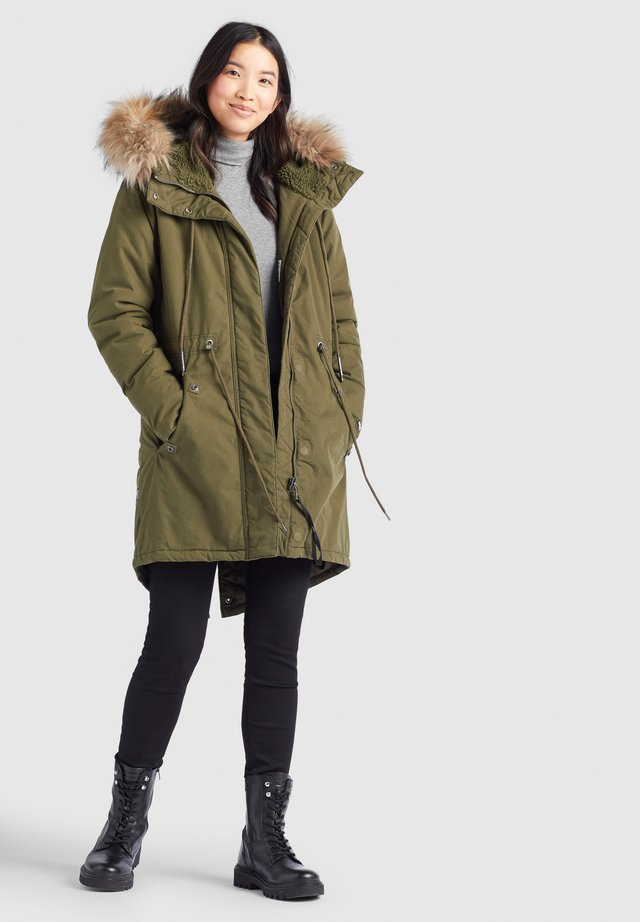 KENITA4 - Winter coat - oliv
