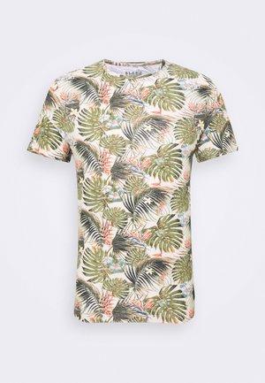 Camiseta estampada - almond white