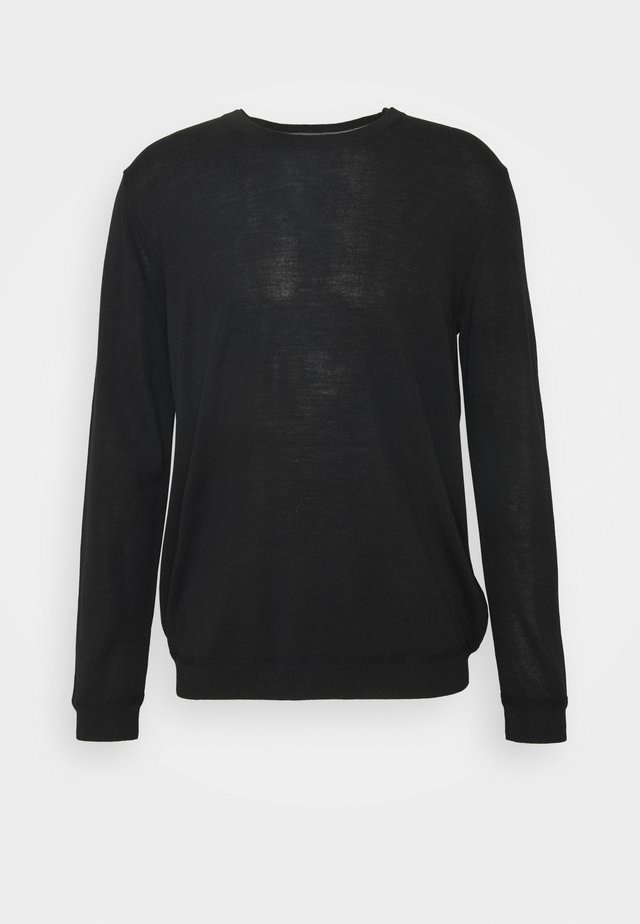 NECK - Strikpullover /Striktrøjer - black