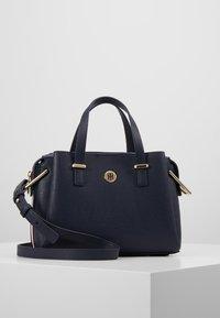 Tommy Hilfiger - CORE SATCHEL CORP - Handbag - blue - 0
