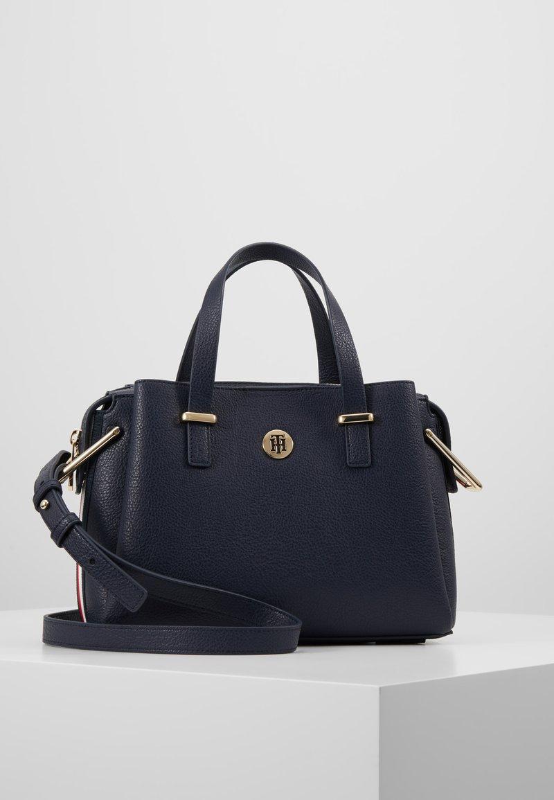 Tommy Hilfiger - CORE SATCHEL CORP - Handbag - blue