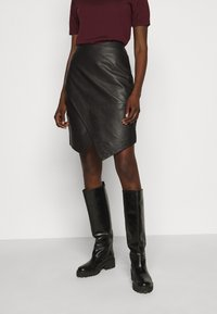 2nd Day - ABIGALE - Pencil skirt - black - 0