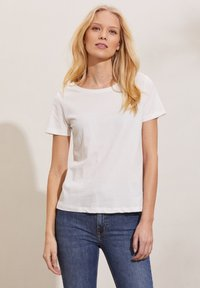 Odd Molly - DAPHNE - Print T-shirt - light chalk - 0