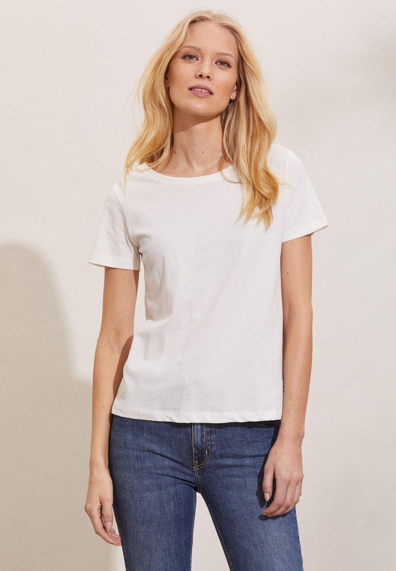 Odd Molly - DAPHNE - Print T-shirt - light chalk