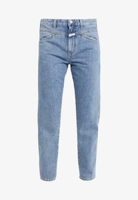 CLOSED - CROPPED X - RELAXED FIT CROPPED LENGTH - Relaxed fit jeans - mid blue - 3