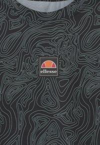 Ellesse - ASALI CROPPED UNISEX - Triko spotiskem - olive/dark grey - 2