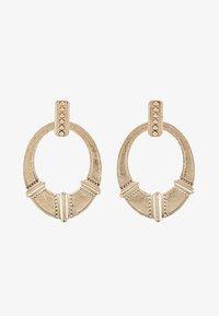 ERASE - ETHNIC DOOR KNOCKER - Boucles d'oreilles - gold-coloured - 3