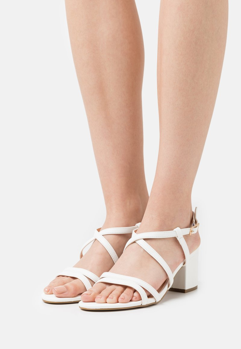 Even&Odd Wide Fit - WIDE FIT - Sandales - white
