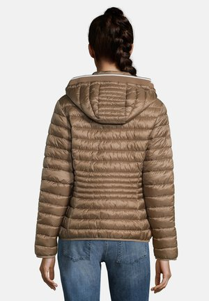 MIT STEHKRAGEN - Winter jacket - classic bronze