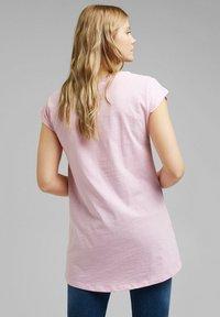 edc by Esprit - Basic T-shirt - pink - 2