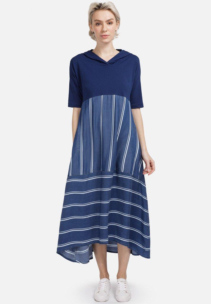 HELMIDGE - Day dress - breitband blau