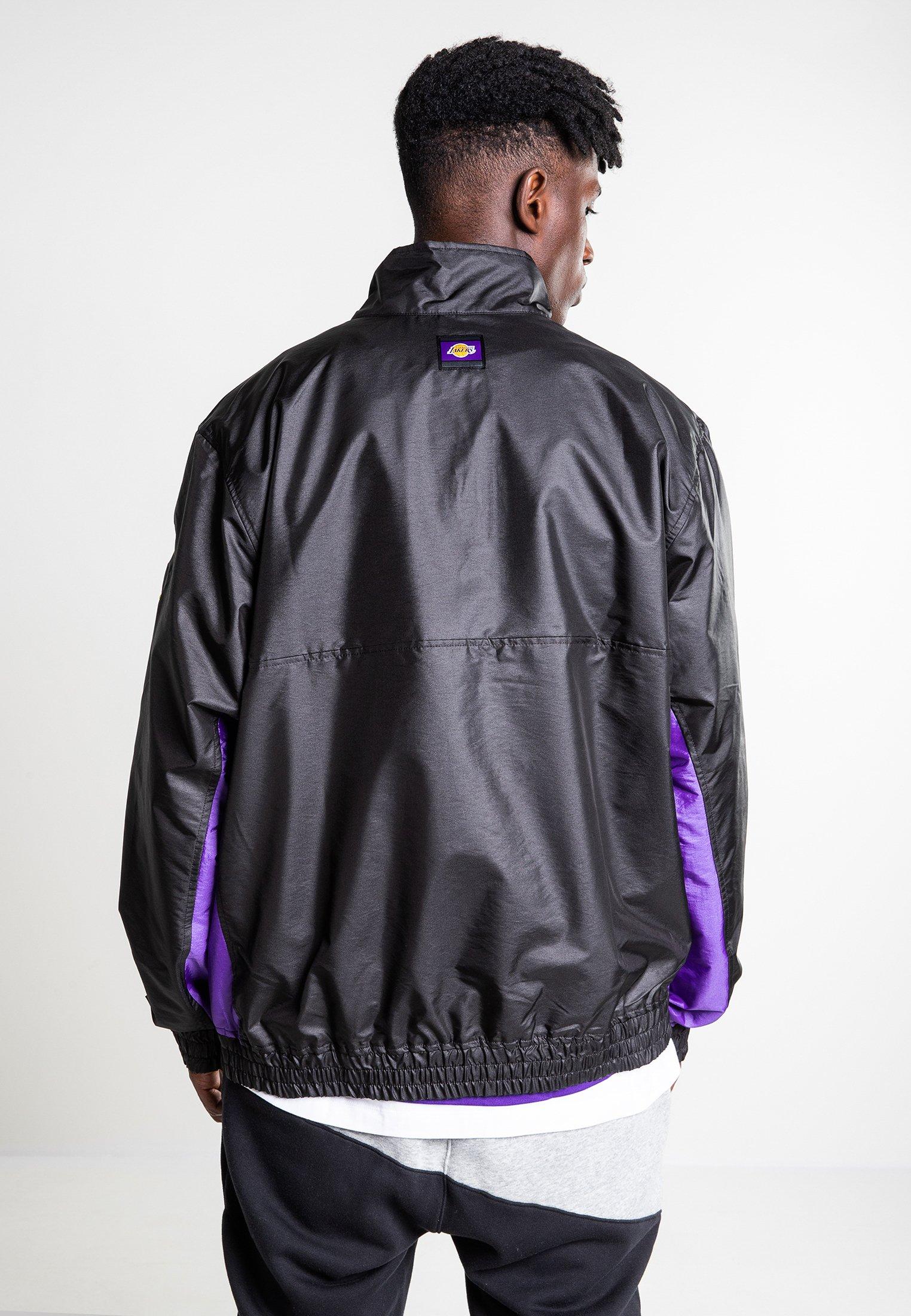 Nike Sportswear Trainingsvest - black/black/field purple/space purple  Heren jassen yn86O