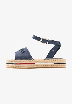 TROPICAL FADE OPENED - Espadrilles - sport navy