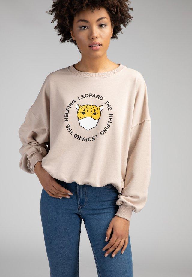 Collegepaita - beige