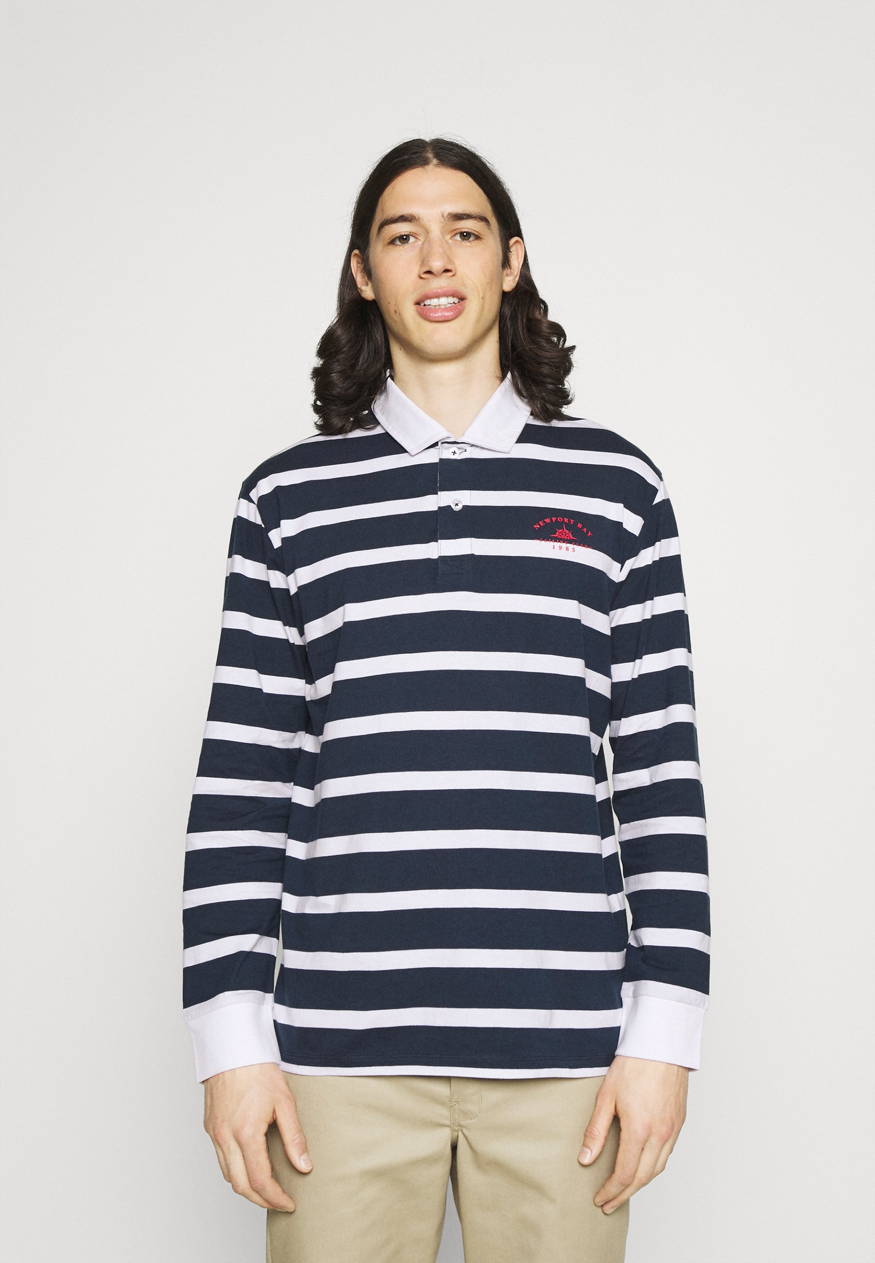 Men BOLD STRIPE RUGBY - Polo shirt