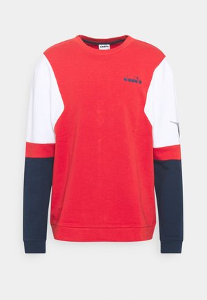 CREW CLUB - Sweatshirt - molten lava red