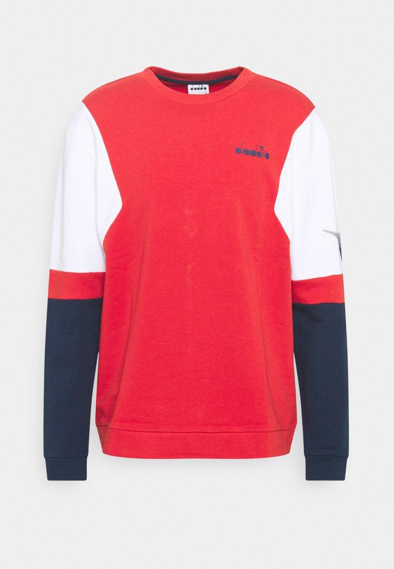Diadora - CREW CLUB - Sudadera - molten lava red