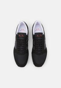 Armani Exchange - RIO  - Sneakers laag - full black - 3