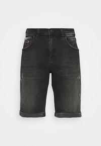 LANCE - Denim shorts - noir wash