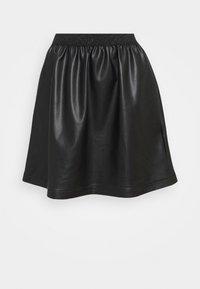 NAF NAF - JUPETTE - Mini skirt - noir - 0