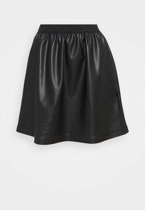 JUPETTE - Minijupe - noir